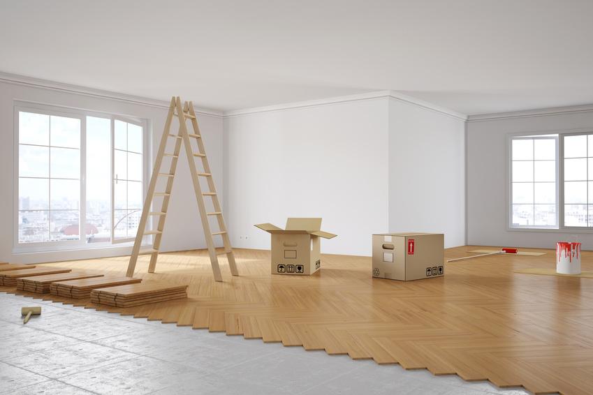 Renovierung von Zimmer in Altbau-Wohnung